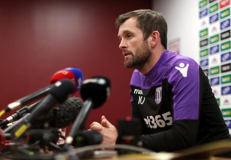 Nathan Jones left Luton for Stoke at the start of last year