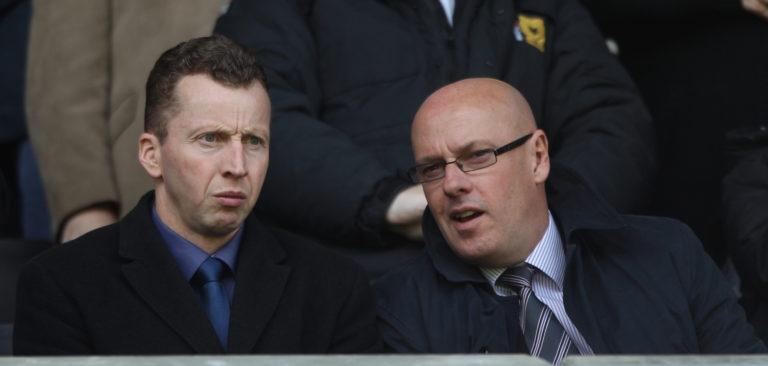 Nicky Hammond, left, heads Celtic's recruitment team