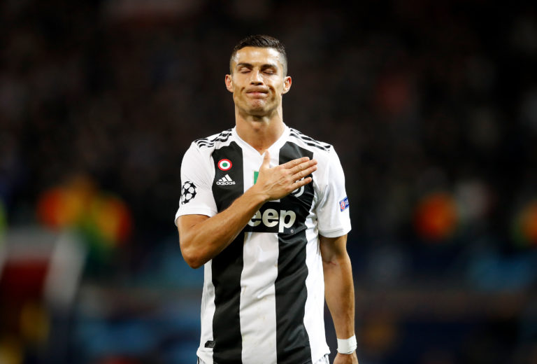 Juventus' Cristiano Ronaldo could soon be back in action