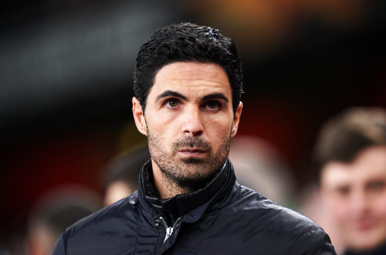 Arsenal manager Mikel Arteta also contracted coronavirus