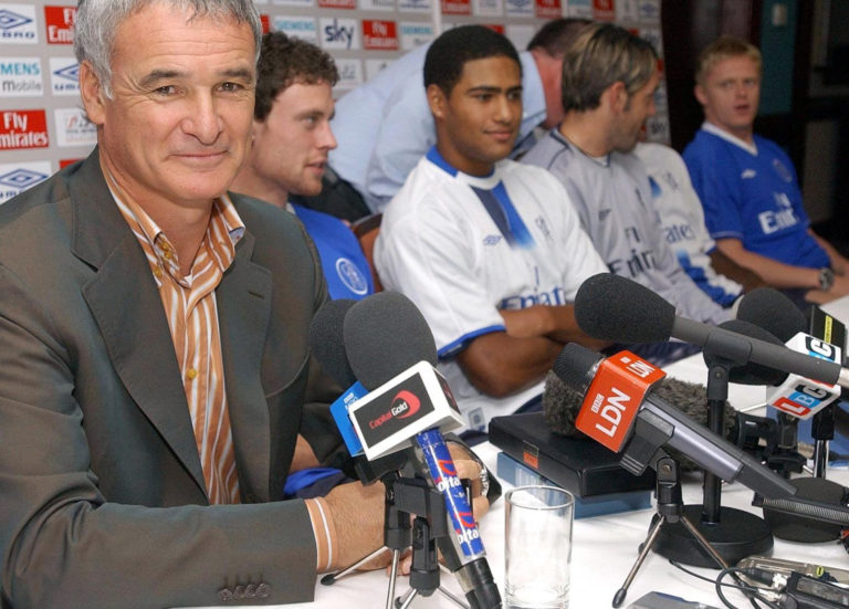 Chelsea manager Claudio Ranieri brought a host of players to the club over his four-year stay