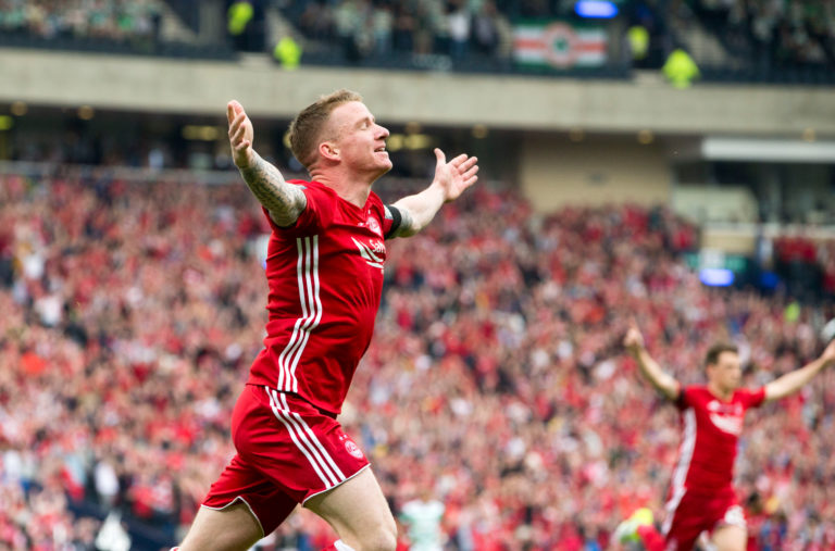 Hayes enjoyed five successful seasons at Aberdeen