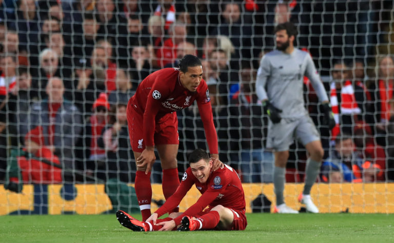 Andy Robertson's was full of praise for Virgil van Dijk.