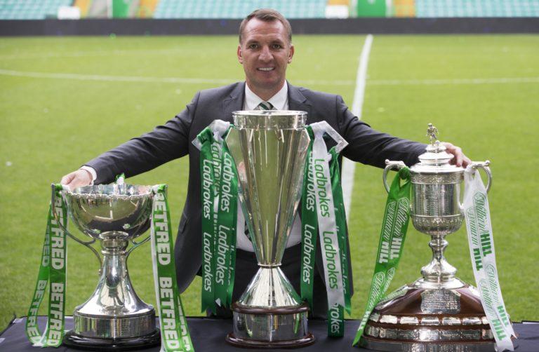 Rodgers won consecutive Scottish trebles