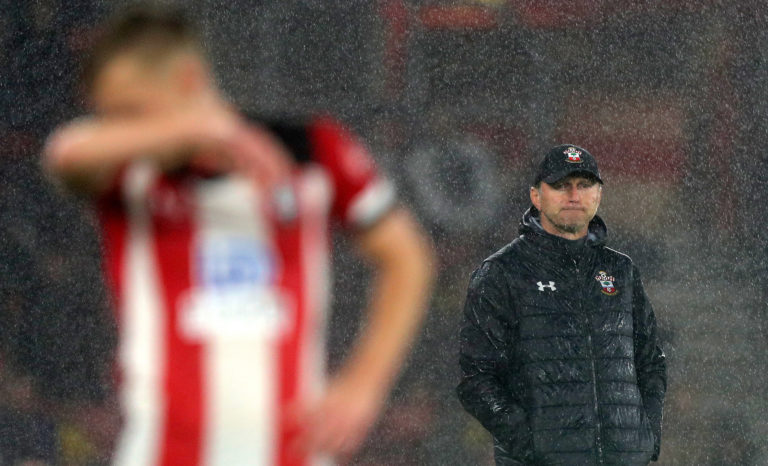 Ralph Hasenhuttl oversaw Southampton's chastening 9-0 home loss to Leicester in October