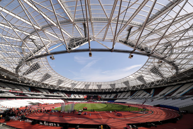 The London Stadium is due to host a match between West Ham and Chelsea