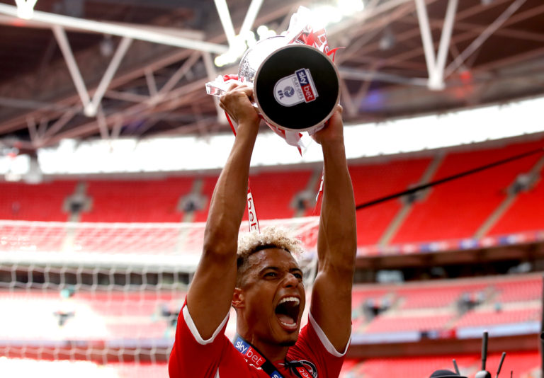 Taylor helped Charlton to play-off success