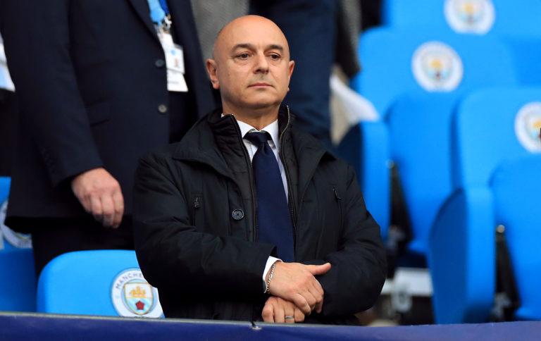 Daniel Levy says the coronavirus crisis is his biggest challenge in 20 years as Tottenham chairman