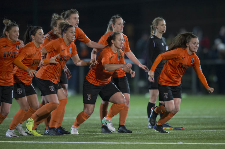 Glasgow City are still in the Women's Champions League