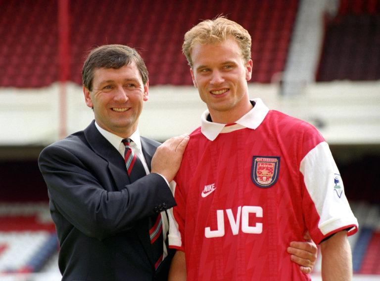 Soccer – Barclays Premiership – Arsenal Signs Dennis Bergkamp – Highbury