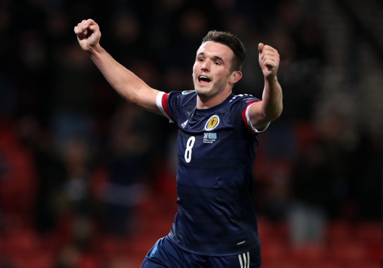 John McGinn hit seven goals for Scotland last season
