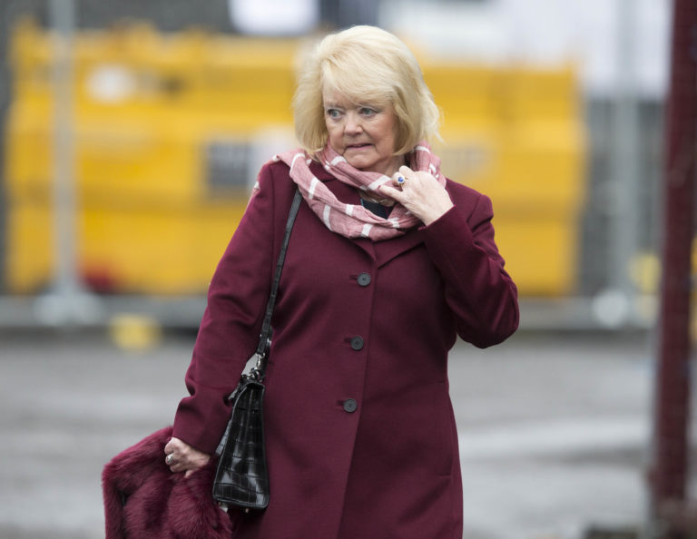 Hearts owner Ann Budge is trying to push through reconstruction