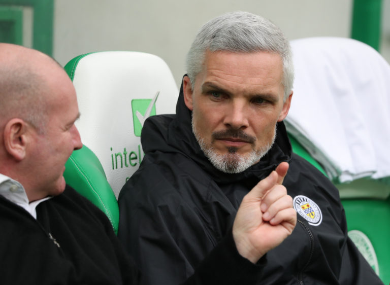 Jim Goodwin is delighted to keep Flynn