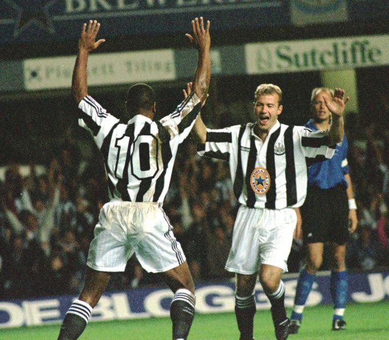 Newcastle/Halmsteds Shearer celeb
