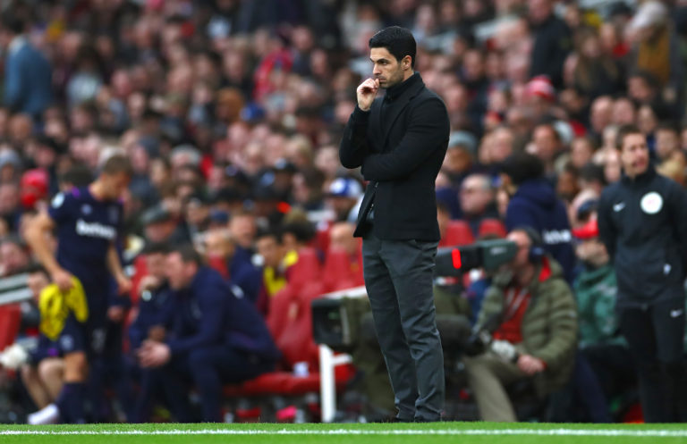It was Arteta's positive test for coronavirus in March that led to the Premier League being suspended