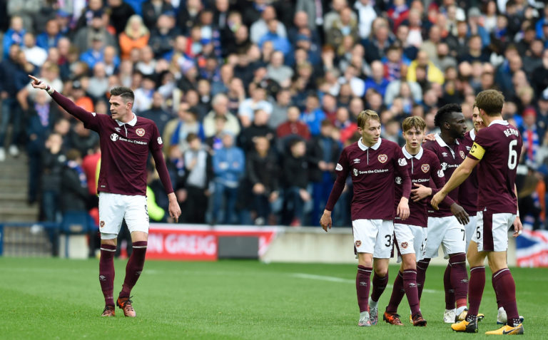 Hearts recently hosted Rangers at Murrayfield