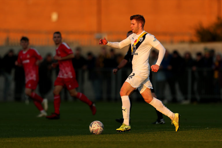Cadden in action for Oxford