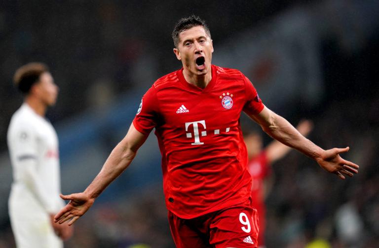 Robert Lewandowski is suspended for Bayern Munich's game against Borussia Monchengladbach (John Walton/PA)