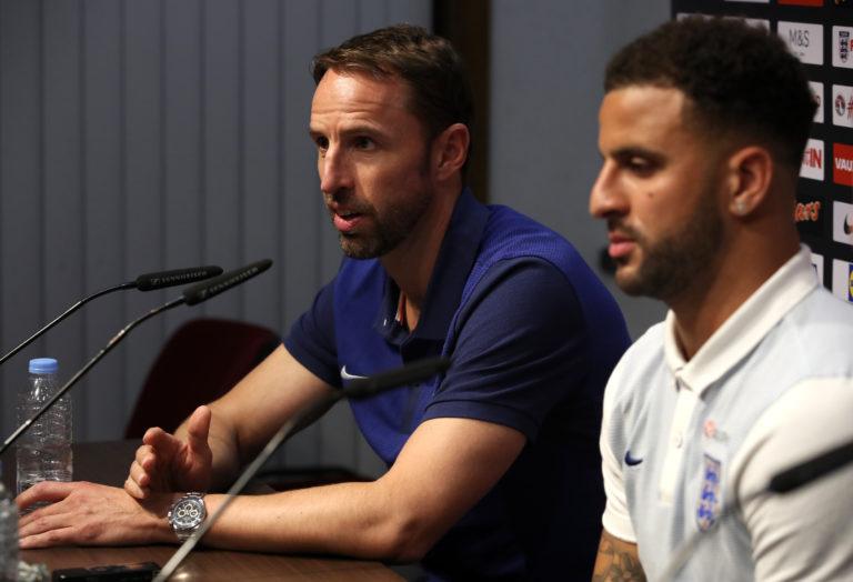 England Stadium Walkaround and Press Conference – National Stadium