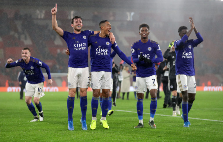 Leicester equalled a Premier League record in thumping Southampton (Andrew Matthews/PA)