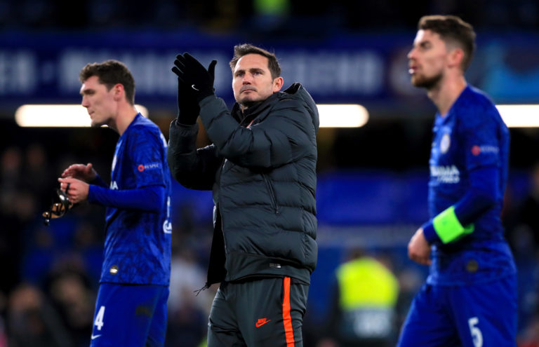 Frank Lampard is in his first season as Chelsea manager (Mike Egerton/PA)