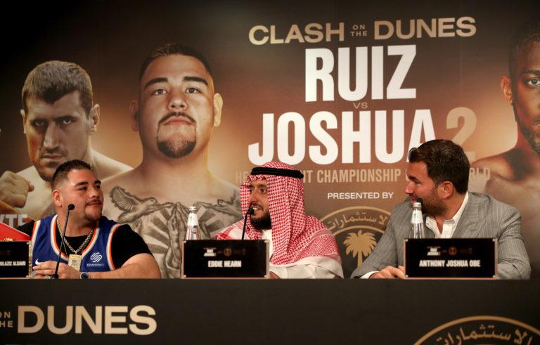 Andy Ruiz Jr v Anthony Joshua – Press Conference – Riyadh