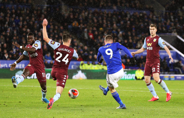 Leicester thrashed Aston Villa in the last Premier League game