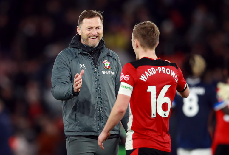 Hasenhuttl has given the captain's armband to James Ward-Prowse