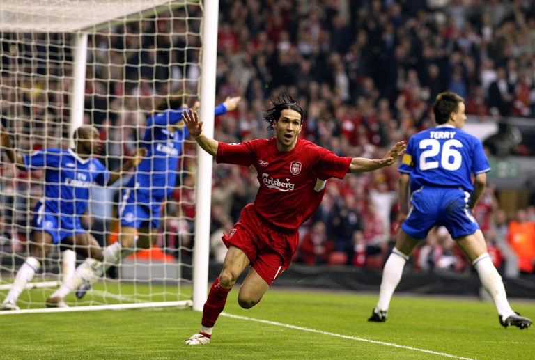 Luis Garcia's goal against Chelsea took Liverpool to the  Champions League final