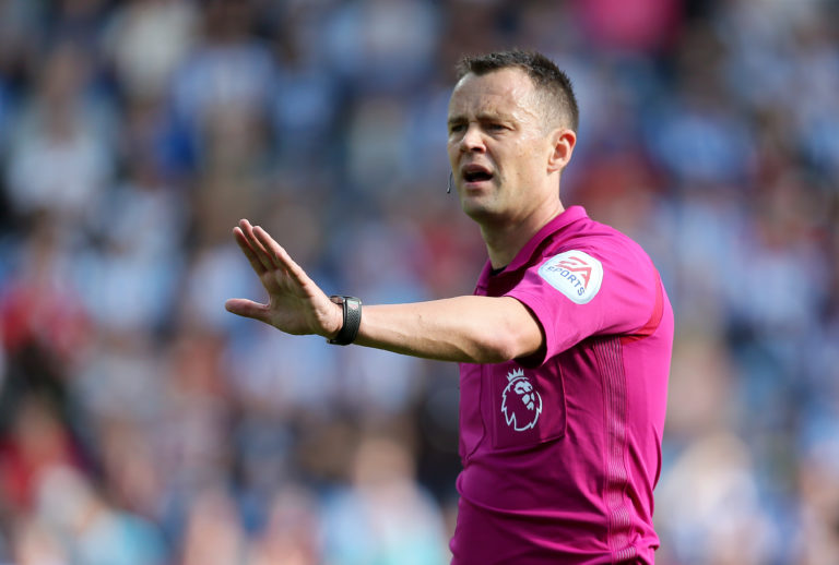 Stuart Attwell was embroiled in controversy in his early days as a Football League referee