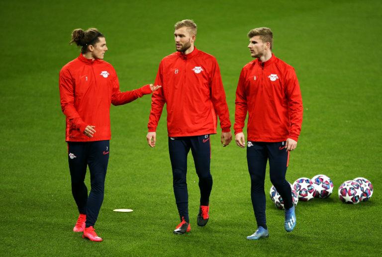 RB Leipzig Press Conference and Training – Tottenham Hotspur Stadium