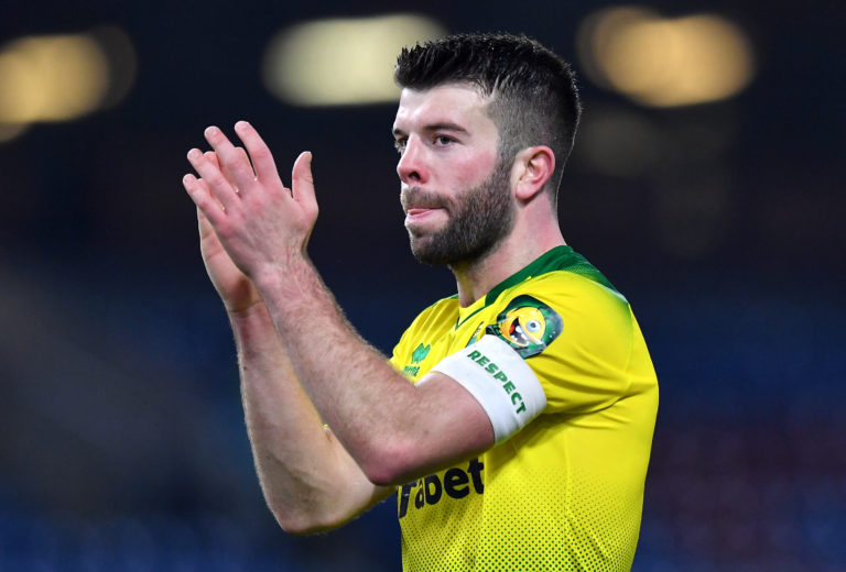 Norwich captain Grant Hanley will miss the remainder of the season (Anthony Devlin/PA)