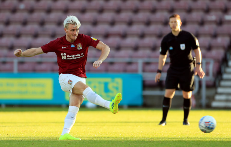 Ryan Watson missed an early penalty for Northampton