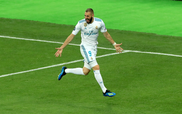 Karim Benzema was on the goal trail on Thursday night.
