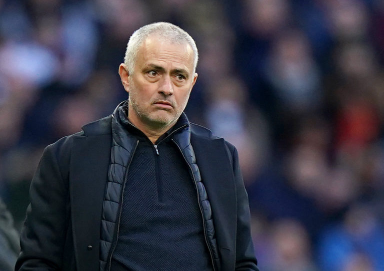 Jose Mourinho himself was caught out during lockdown