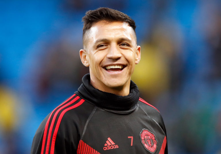 Manchester United's Alexis Sanchez has been sent out on loan