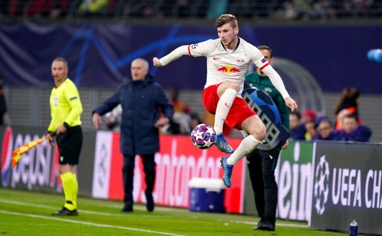 RB Leipzig's Timo Werner was heavily linked with a move to Liverpool before signing for Chelsea