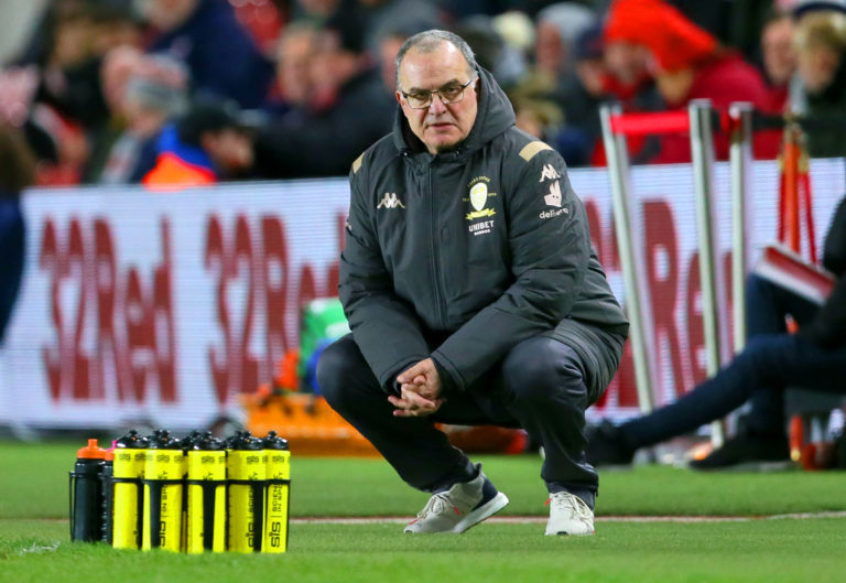 Leeds manager Marcelo Bielsa will want to ensure his side get over the line this time around