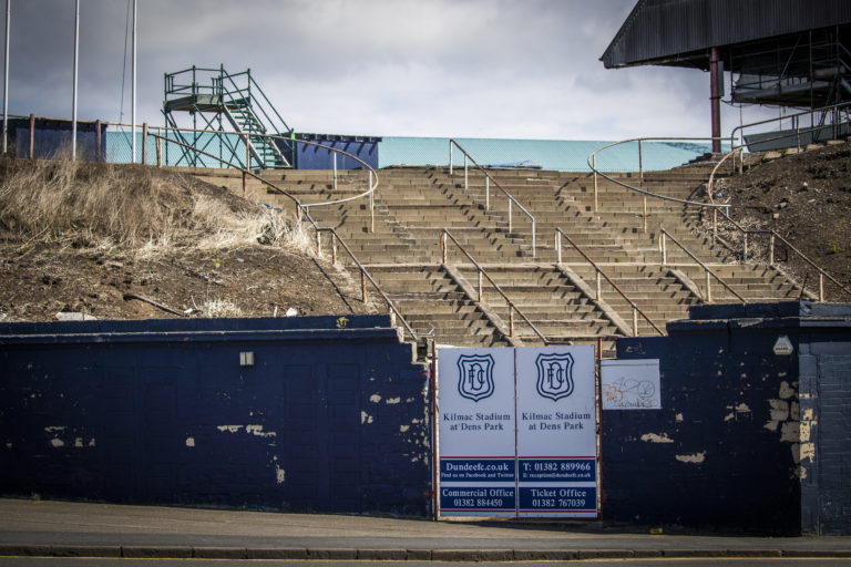 Dundee are unsure when their gates will reopen for fans