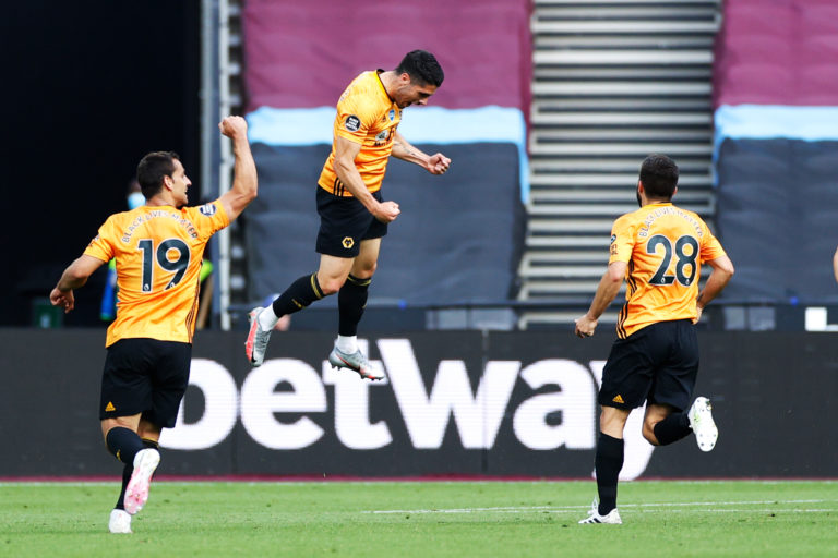 Pedro Neto scored Wolves' second