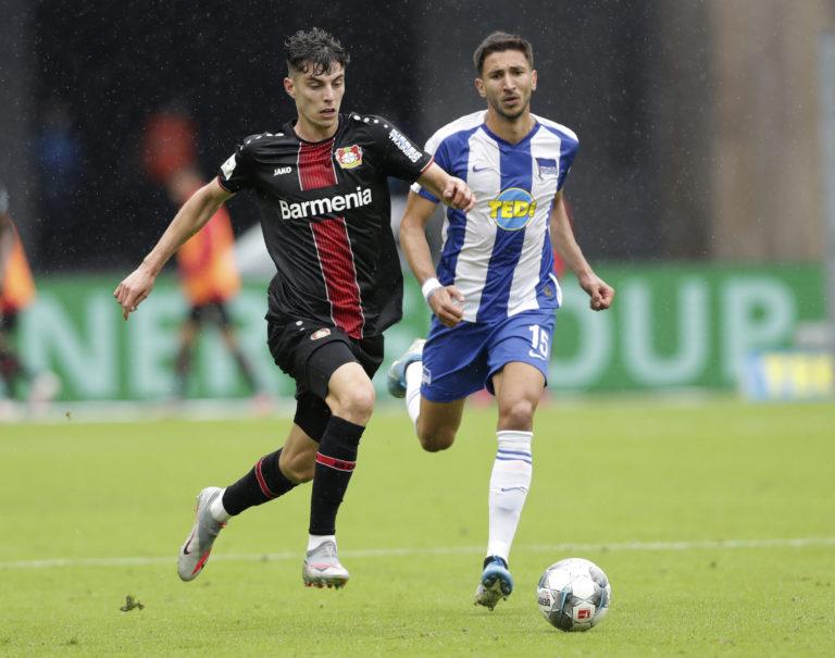 Bayer Leverkusen's Kai Havertz has been linked with Chelsea