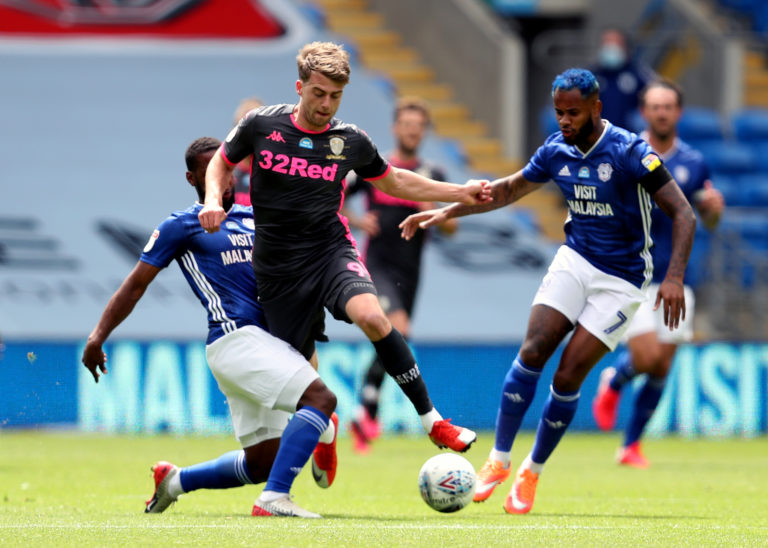 Patrick Bamford inadvertently blocked Leeds' best chance