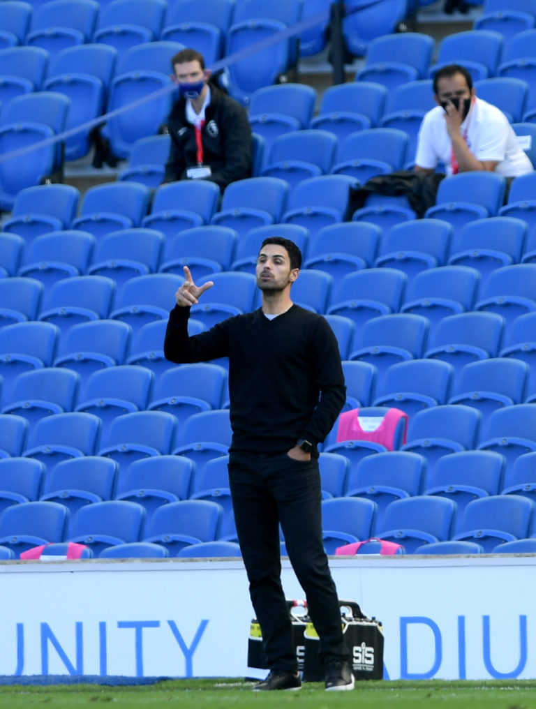 Brighton & Hove Albion v Arsenal – Premier League – Amex Stadium