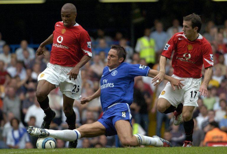 Quinton Fortune, left, made 76 Premier League appearances for Manchester United