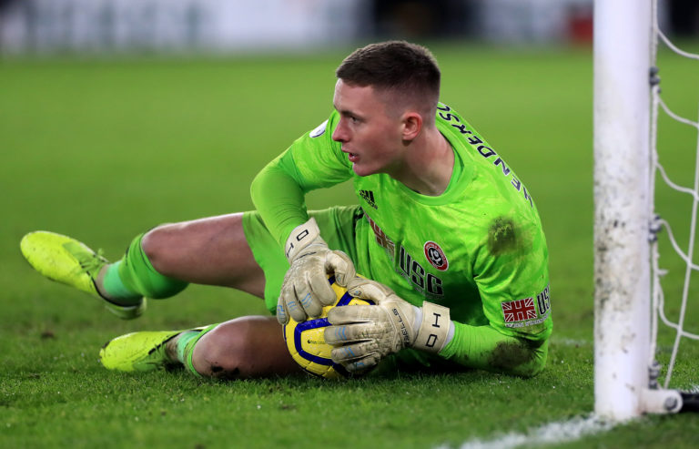 Dean Henderson is set to stay with the Blades