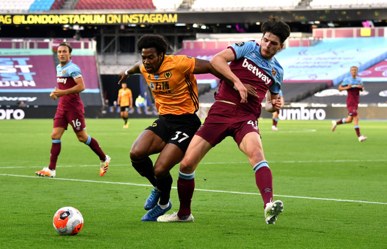West Ham United v Wolverhampton Wanderers – Premier League – London Stadium