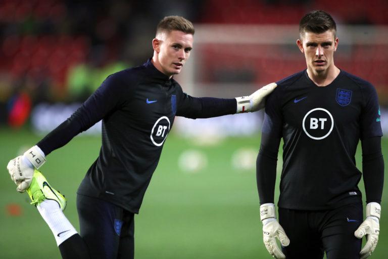 Dean Henderson has yet to make his senior England debut