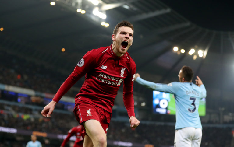 Liverpool could have the chance to win the title at the home of their closest rivals