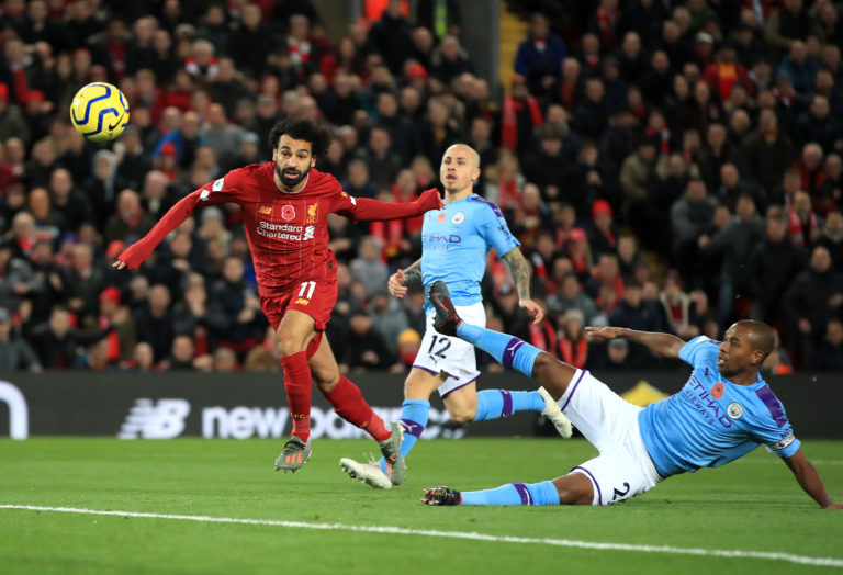 Liverpool hold a 20-point lead over nearest rivals Manchester City