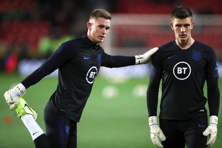 Dean Henderson has yet to make his senior England debut